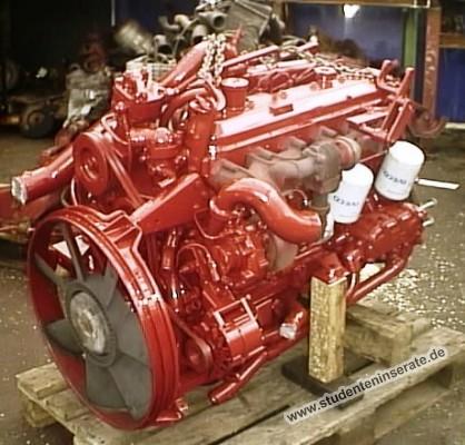Motor gebr. IVECO EuroCargo 80 E 18 und 80 E 21