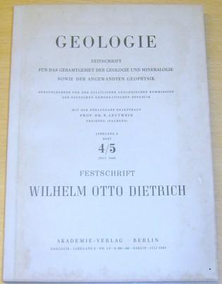 Festschrift Wilhelm Otto Dietrich zu seinem 75. Ge