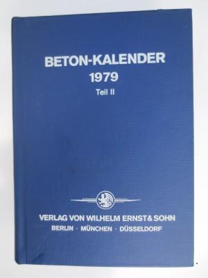 Beton-Kalender 1979 Teil II
