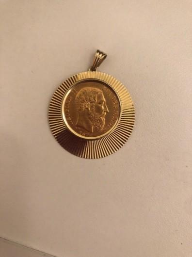 Münze Leopold der zweite aus dem Jahr 1878