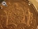 Münze Leopold der zweite aus dem Jahr 1878 - Vorschaubild 2
