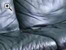 Echtleder Couch Sofa - Vorschaubild 1