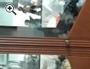Vitrine Kirsche / Wohnzimmertisch Helle Eiche - Vorschaubild 1
