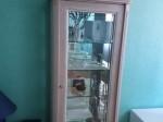 Sideboard mit Spiegel und Vitrine