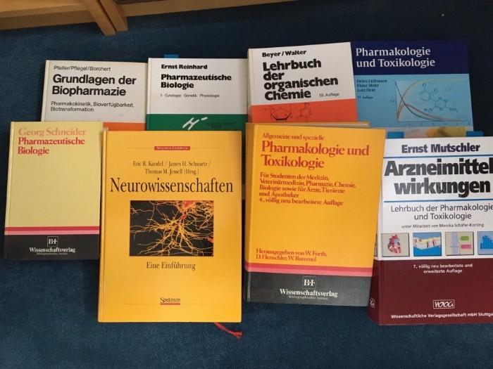 Literatur für Pharmaziestudenten