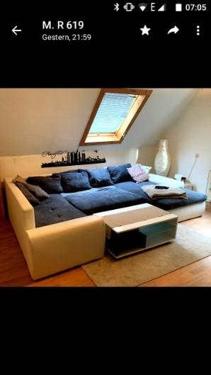 Sofa mit Liegefläche