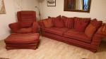 Gemütliches Sofa mit Ohrensessel VB 250