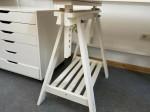 IKEA 2x FINNVARD Tischbock + Tischplatte