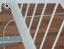 weißes Metallbett - Vorschaubild 3