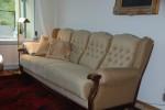 gebrauchtes gemütliches Sofa