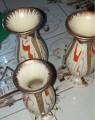 3 kleine Vasen 15€ VB
