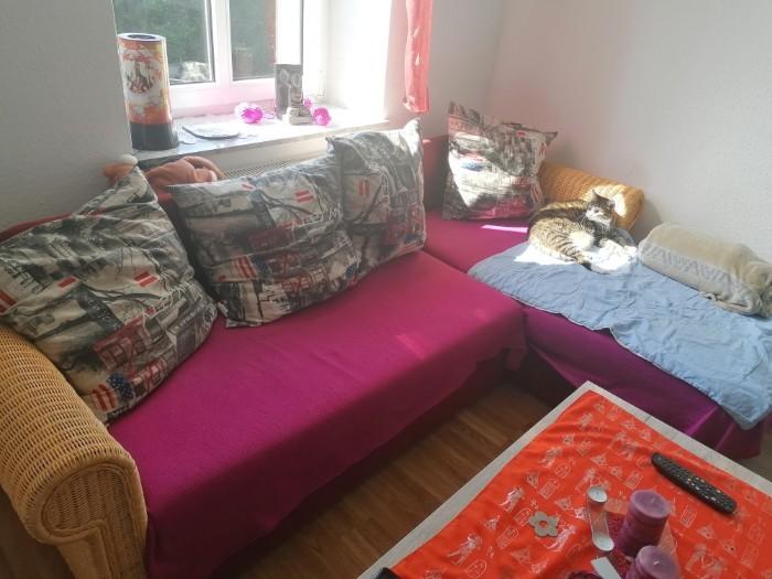 Wegen Neuanschaffung verkaufe ich meine Couch mit