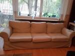 Ektorp Couch 3-Sitzer - gebraucht