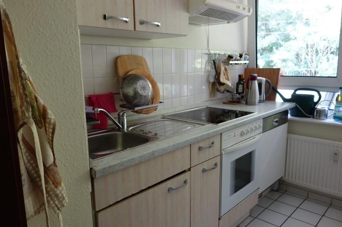 Einbauküche mit Elekltrogeräte zu verschenken