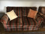 Sitzgarnitur: Sessel, 2x 2er Sofa, Hocker