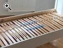 Sehr schönes Bett in weiß von Ikea, neuwertig - Vorschaubild 3