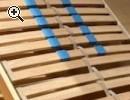 Sehr schönes Bett in weiß von Ikea, neuwertig - Vorschaubild 4