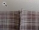Braue Bettcouch & Kleiderschrank massiv - Vorschaubild 1