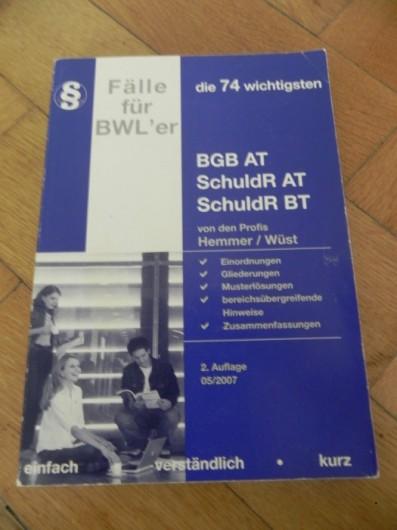 Hemmer: Fälle für BWLer
