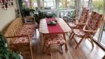 Verkauf neuwertige Tischgarnitur für Wintergarten/