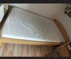 Bett (1.20) mit Nachtschrank