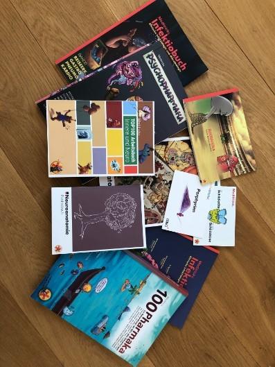 Meditricks Bücher (Zustand praktisch neu)