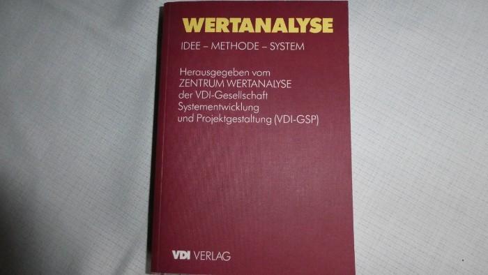 WERTANALYSE -IDEE_METHODE_SYSTEM