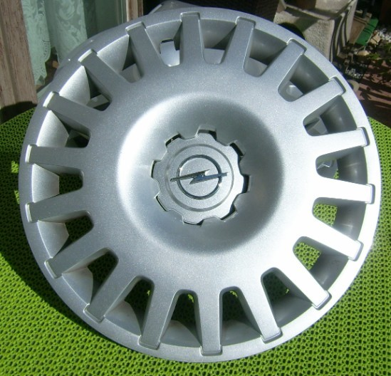 Original Opel Radkappen 15 Zoll Silber