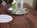 Esszimmertisch mit 4 Stühlen und passende Vitrine - Vorschaubild 1