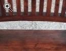 Esszimmertisch mit 4 Stühlen und passende Vitrine - Vorschaubild 2
