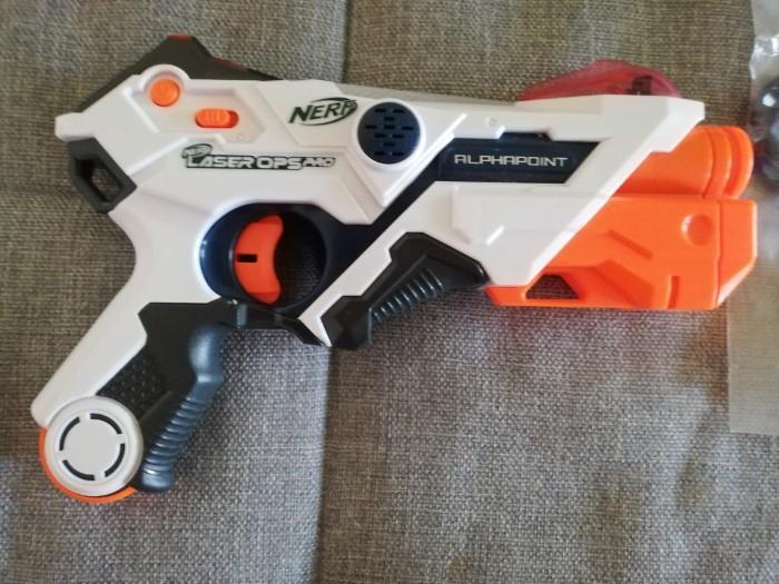 Neue Nerf Laser Ops AlphaPoint von Hasbro