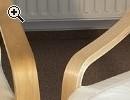 Schwingsessel Schwingstühle Massivholz weiß - Vorschaubild 1
