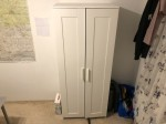 IKEA Brimnes Kleiderschrank Weiss Gebraucht