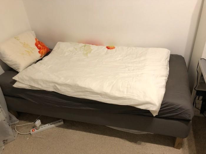 IKEA Espevaer Bett mit Gel-Matratze Gebraucht