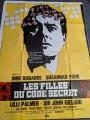 1968 Schweiz Groß Plakat Les Filles Lilli Palmer