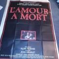 1984 Schweizer Film Plakat Resnais  L Amour